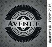avenue dark emblem. retro....   Shutterstock .eps vector #1404940469