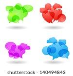 speech bubble concept | Shutterstock .eps vector #140494843