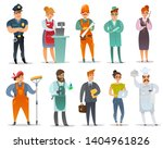 the set of isolated characters... | Shutterstock .eps vector #1404961826