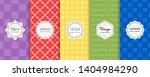 vector geometric seamless...   Shutterstock .eps vector #1404984290