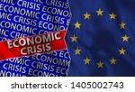 european union and economic... | Shutterstock . vector #1405002743