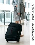 woman's legs and travel... | Shutterstock . vector #140500426