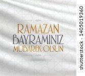 eid al fitr mubarak islamic... | Shutterstock .eps vector #1405019360