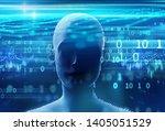 3d rendering of virtual human...   Shutterstock . vector #1405051529