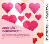 celebrate heart icon vector...   Shutterstock .eps vector #1405065923