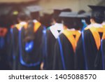 blurred image crowd  the...   Shutterstock . vector #1405088570