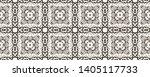 tibetan fabric. black and... | Shutterstock . vector #1405117733