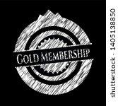 gold membership written with... | Shutterstock .eps vector #1405138850