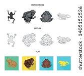 vector design of wildlife and... | Shutterstock .eps vector #1405152536