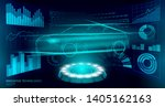 low poly car automation... | Shutterstock .eps vector #1405162163