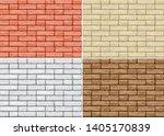 cartoon seamless pattern of...   Shutterstock .eps vector #1405170839