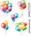 image illustration set of... | Shutterstock .eps vector #1405172153