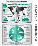 set of infographics elements....   Shutterstock .eps vector #140519998