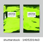 set of vector business card... | Shutterstock .eps vector #1405201463