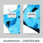 set of vector business card... | Shutterstock .eps vector #1405201466