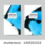 set of vector business card... | Shutterstock .eps vector #1405201523