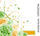 abstract vector flower...   Shutterstock .eps vector #140520766