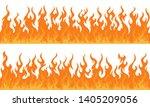 cartoon fire flame frame...   Shutterstock .eps vector #1405209056