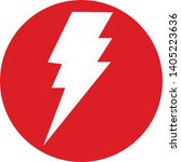 vector icon depicting energy in ...   Shutterstock .eps vector #1405223636