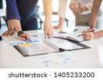 business group or business... | Shutterstock . vector #1405233200