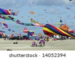 colorful activity in the air... | Shutterstock . vector #14052394