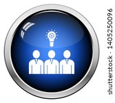 corporate team finding new idea ... | Shutterstock .eps vector #1405250096