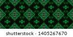 snake skin. black  green  white ...   Shutterstock . vector #1405267670