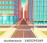 metropolis crossroads  streets... | Shutterstock .eps vector #1405295369