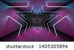night club interior lights 3d... | Shutterstock . vector #1405305896