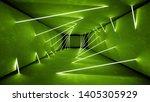 night club interior green...   Shutterstock . vector #1405305929