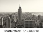 Aerial View Of New York City I...