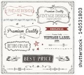 vintage frames and design... | Shutterstock .eps vector #140531803