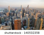 chicago   may 19   aerial view... | Shutterstock . vector #140532358