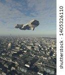 science fiction illustration of ... | Shutterstock . vector #1405326110