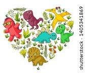 pattern kids fabric  textile ...   Shutterstock .eps vector #1405341869