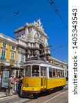 lisbon  portugal   september 4  ... | Shutterstock . vector #1405343543