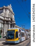 lisbon  portugal   september 4  ... | Shutterstock . vector #1405343546
