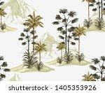 tropical vintage seamless... | Shutterstock .eps vector #1405353926