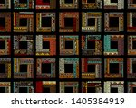 abstract ethnic frames ... | Shutterstock .eps vector #1405384919