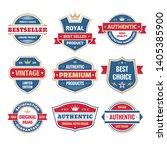 business badges vector set in...   Shutterstock .eps vector #1405385900