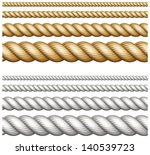 set of different thickness...   Shutterstock .eps vector #140539723