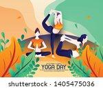 illustration of international... | Shutterstock .eps vector #1405475036