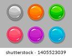 round buttons  orange  pink ...