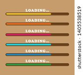loading bars of different...