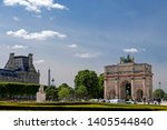 paris  france   may 16  2019  ... | Shutterstock . vector #1405544840