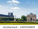 paris  france   may 16  2019  ... | Shutterstock . vector #1405544849