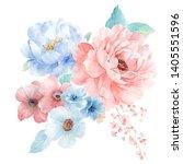 Watercolor Flowers Set It\'s...