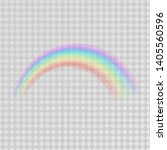 abstract colorful rainbow... | Shutterstock .eps vector #1405560596