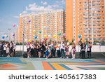 moscow  russia   22 may 2019 ...   Shutterstock . vector #1405617383