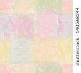 Grunge Striped Wavy Quilt...